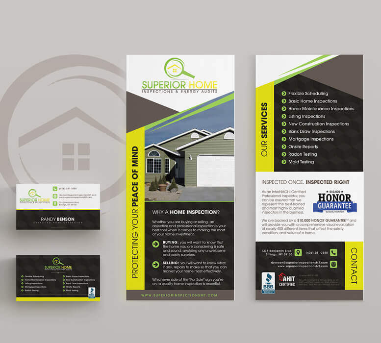 Superior Home Inspections - Print designs