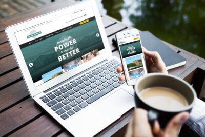 YVEC :: Desktop and Mobile Views